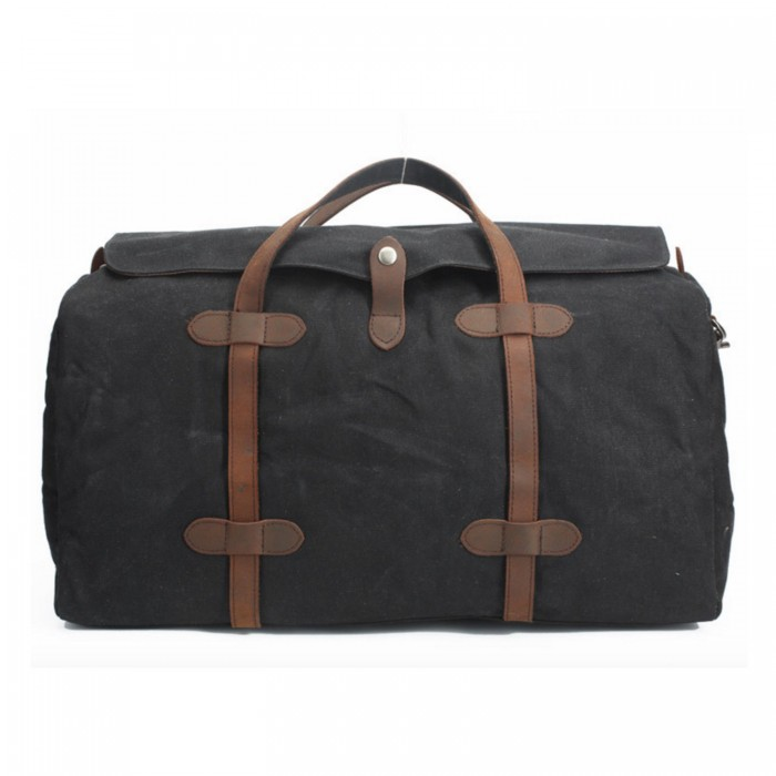 Zavier-canvas-duffle-bag-black-2