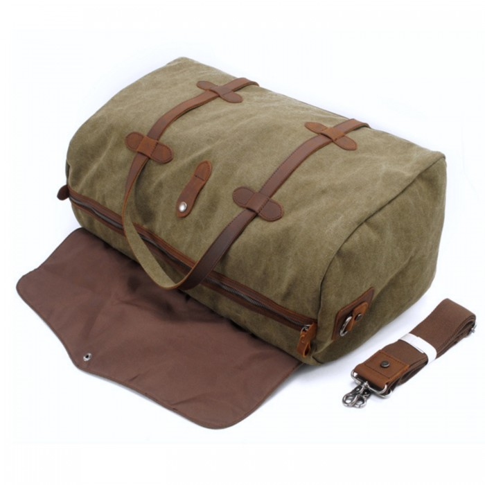 Zavier-canvas-duffle-bag-green-3