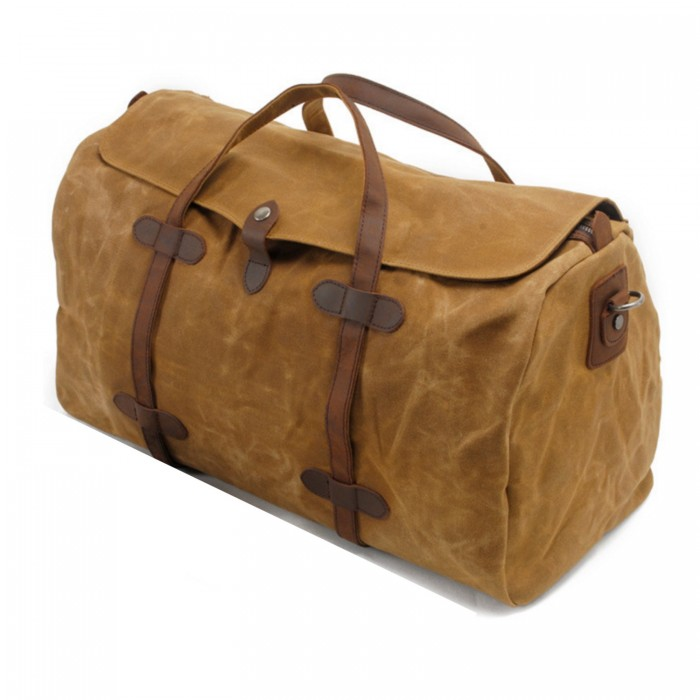 Zavier-canvas-duffle-bag-orange-brown-1