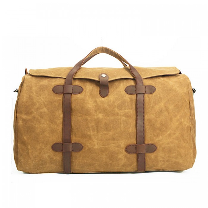 Zavier-canvas-duffle-bag-orange-brown-2